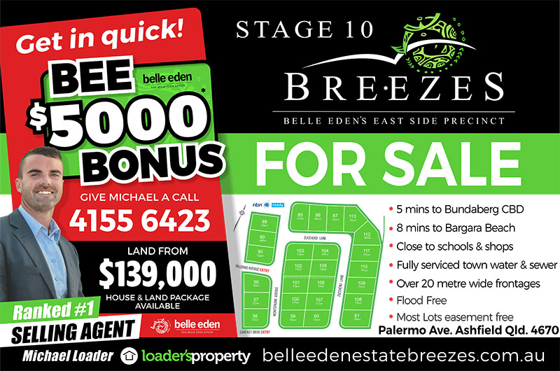 Belle Eden Estate Breezes $5000 Bonus