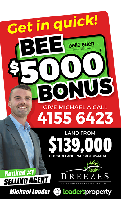 Belle Eden Estate $5000 Bonus